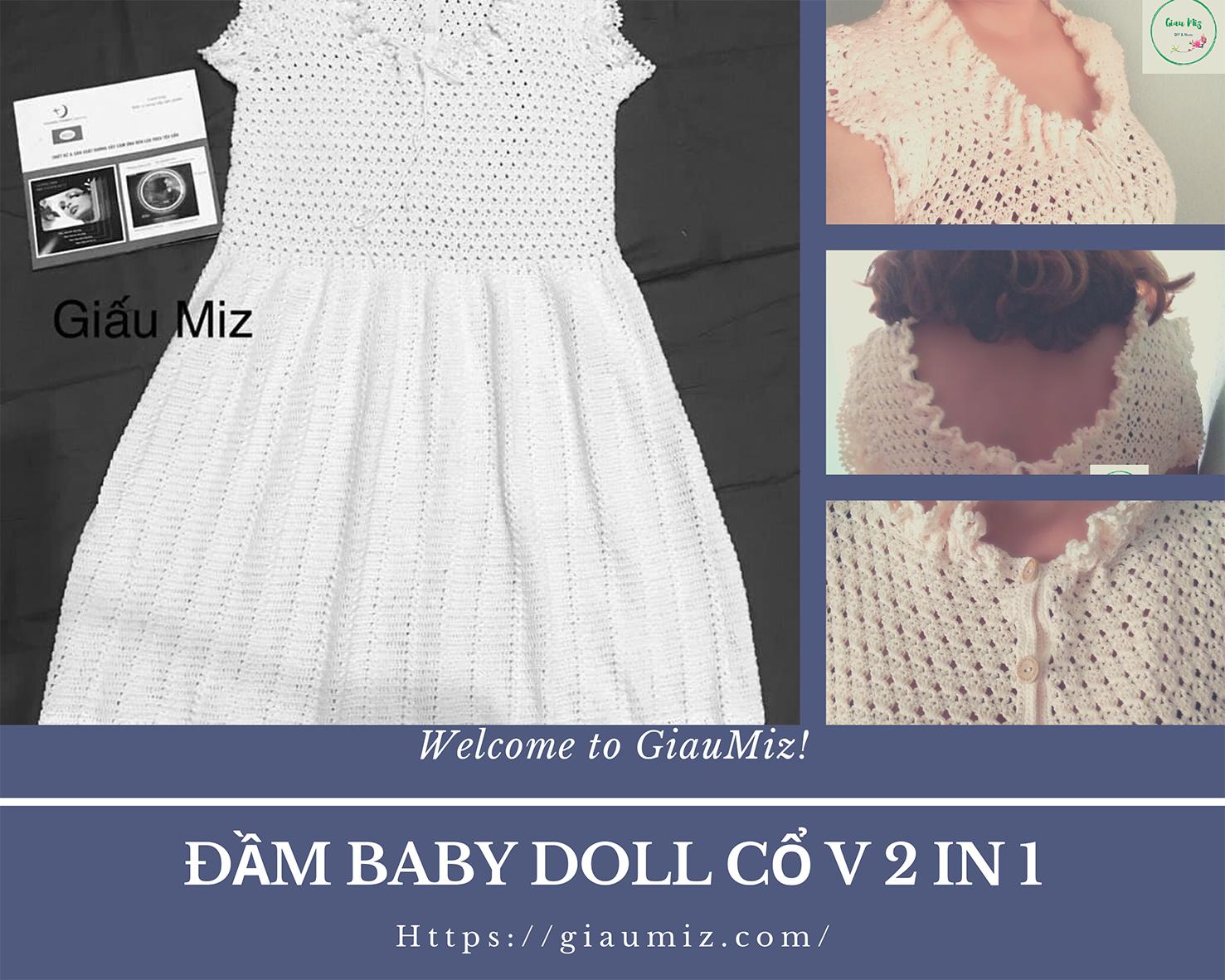 moc dam baby doll co V 2 in 1