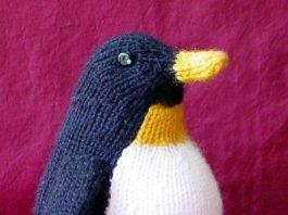 hướng dẫn cách đan chim cánh cụt - knitting penguins