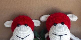 hướng dẫn móc chú cừu bằng len