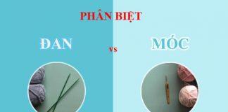 phân biệt đan và móc